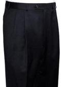 SKU#PS313 RALPH LAUREN Black Pleated Men's Pants $105