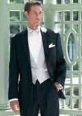 2 Button Black Notch Tuxedo