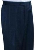 Lauren Navy Blue stripe