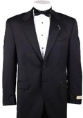 SKU#MM341 Ralph Lauren Tuxedo 2 Button Non Pleated Pants $274