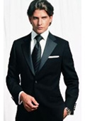 SKU#GGBG2 Retail:$1200 Most Luxurious Classic Tuxedo 2 Button Tuxedo Merino Wool On Sale $295