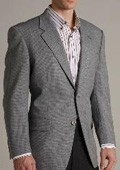 Grey Two-button Wool Suit