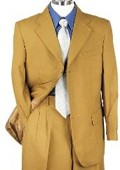 SKU#FP39308 SHARP 2pc MENS 3B DRESS SUIT BRONZE $139