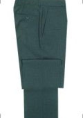SKU# DWR754 SUPERB QUALITY TAILORING Front Super 120's Wool Dress Slacks $99