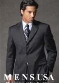 3 buttons Men's Suits