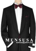 SKU# MU23 Shawl Collar One Button Super 150's Wool Suit $199