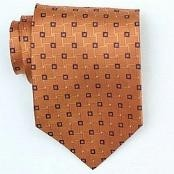 Orange/Black Woven Necktie $39