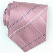 Pink/Grey/Blue/White Extra long Woven