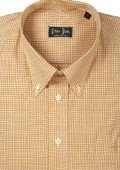 Cotton Gingham Plaid Gold