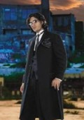 SKU#JOS_106 Striking and Unique Men's Full Length Black Fashion Zoot Suit Tuxedo $139