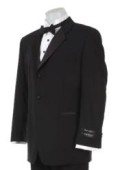 SKU# SZ-TW3 Super 120's Wool Tuxedo Suit + Shirt + Bow Tie + Vest $149