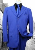 SKU#WP3977 Super 120'S G-Royal Solid Color Suit $125