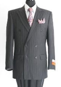Double Breasted Man Suit