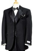 SKU# ZTW3 Super 150's Wool premeier quality italian fabric Design Super 150's Wool + Shirt + Bow Tie + Vest $199