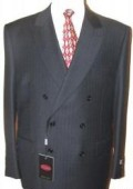 SKU# LK-32 Ton on Ton Shadow Tonal Stripe Double Breasted Suit Comes in 8 Colors $299