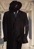 Tonal Shadow Pinstripe Ton on Ton Tuxedo Pattern Come in 3 Colors Suit $149
