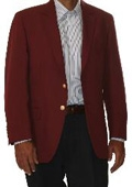 Button Blazer Wool Blend