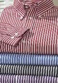 Westport Wardrobe Long Sleeve Stripe Sport Shirt $119