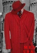 Red & White Fashion Style Long Dress Suit 3 Pieaces Vested $159