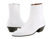 White Leather Boots $99