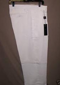 "SKU#WL10 White Deep Pleat-Wide Leg 22- Inch"" around the bottom $59"