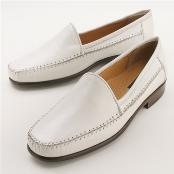 SKU# Z30050 White Leather Upper & Sole $195