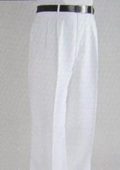 SKU#KM4044 White Wide Leg Dress Pants $59