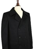mens double breasted peacoat