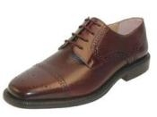 Zitalli Brown Captoe blucher