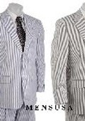 Gray&White or Blue Stripe