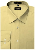 SKU#CE8801 Amanti Men's Wrinkle-free Dress Shirt Cheese $25