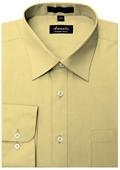 SKU#CE8801 Amanti Men's Wrinkle-free Dress Shirt Cheese $25