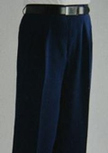 SKU#FL9574 Blue Wide Leg Dress Pants $59