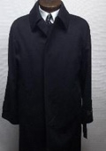 "Ryan121 38"" three button single breasted coat with a center-vent, fly front $199"