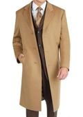Camel Cashmere Topcoat