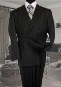 Suit With Pinstripe Full