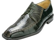 Green Genuine Ostrich/Eel $259