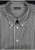 Reverse Ground Stripes Black