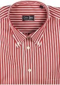 Gitman Sport Reverse Ground Stripes red On Sale: $125