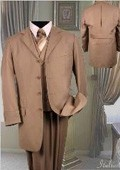 Fashion Tan Suit 3PC