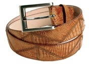 Alligator Patchwork Belt $99