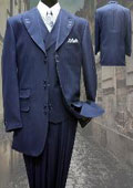 INDIGO FASHION SUIT 3PC
