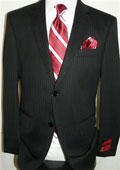 Grey 2-button Wool Suit