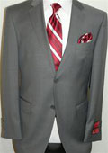 Sharkskin Suit By Mantoni
