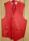 RED VEST & TIE SET $49