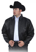 Los Altos Black All Over Genuine Ostrich Jacket $2475