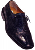 203/528 Navy Genuine Alligator