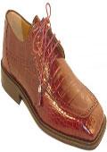 Ferrini Burgundy ~ Maroon ~ Wine Color Genuine Alligator Shoes $569