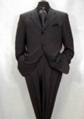 Expensive full canvas quality Collection True Charcoal Superfine Super 150s' Merino Wool MEN'S SUIT $295