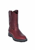 Mens Los Altos Grasso Nappa Work Boot with Full Lug Sole Burgundy ~ Maroon ~ Wine Color $139